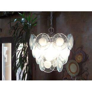 House of Hampton Richer 4-Light Shaded Chandelier