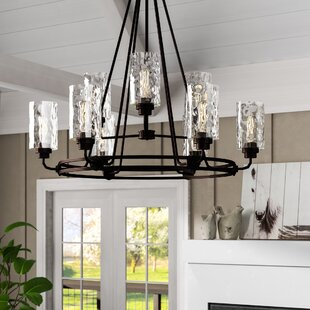Westhope 9-Light Shaded Chandelier by Laurel Foundry Modern Farmhouse