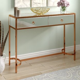 Hayashi Mirrored Console Table