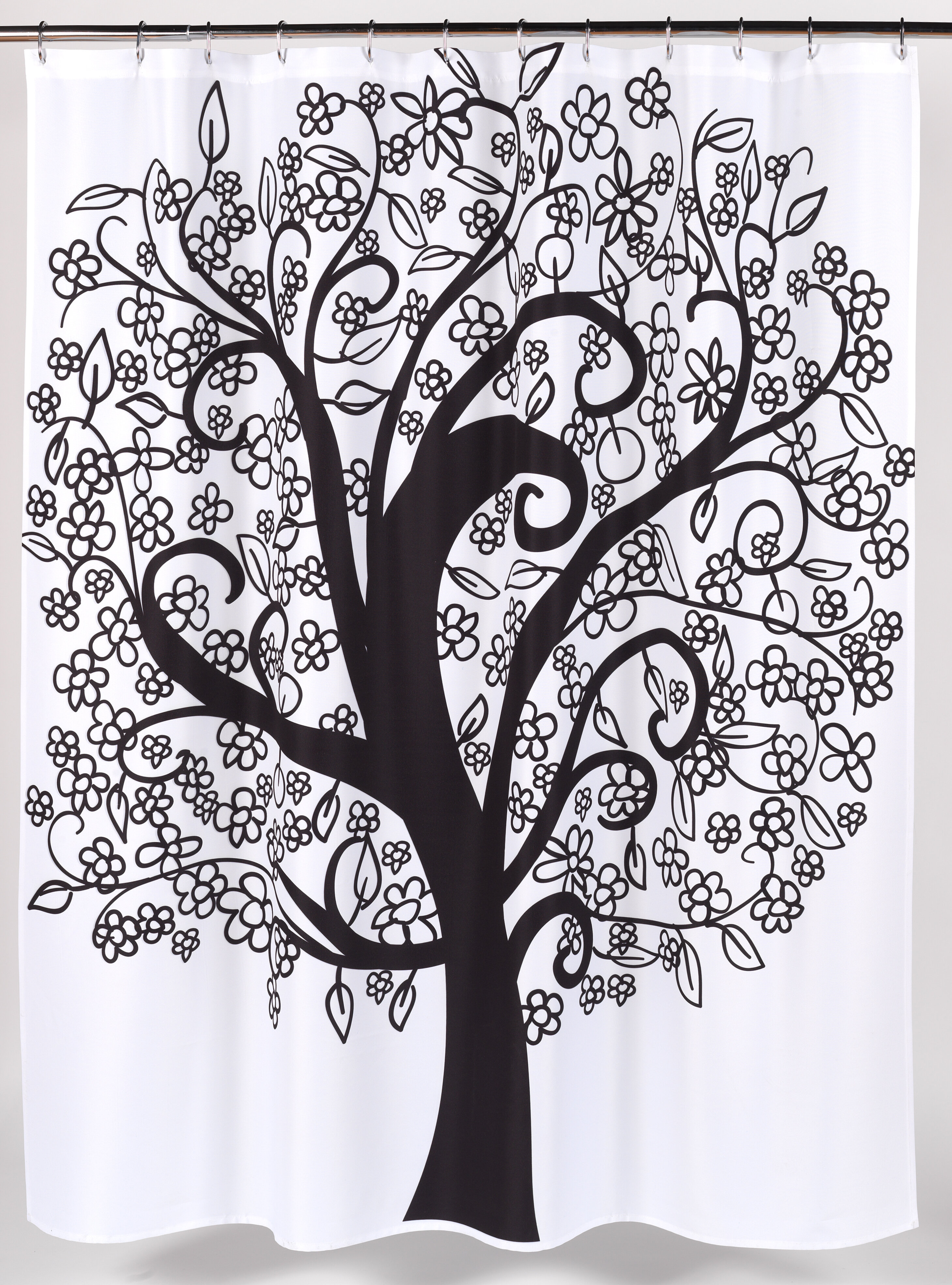 Ben And Jonah Tree Of Life Shower Curtain