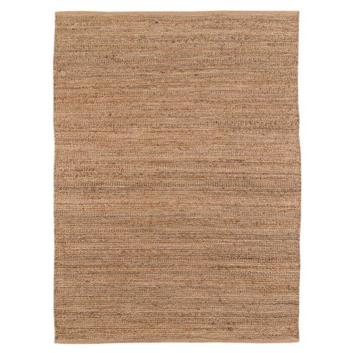 Lantz Flat Weave Brown Area Rug