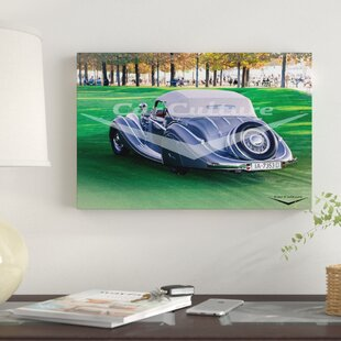 '1937 Horch 853A Spezial Cabriolet' Graphic Art Print on Canvas ByEast Urban Home
