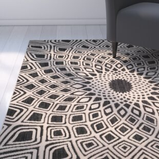 Mullen Black/Beige Indoor/Outdoor Area Rug