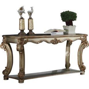 Astoria Grand Lindsay Wood Console Table