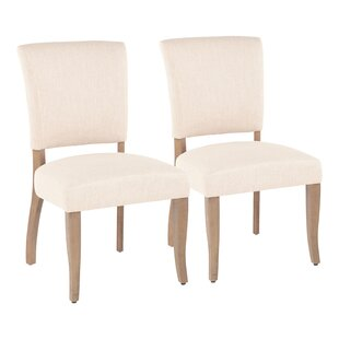 Spielman Upholstered Dining Chair (Set of 2) Gracie Oaks