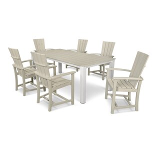 POLYWOOD® Quattro 7 Piece Dining Set