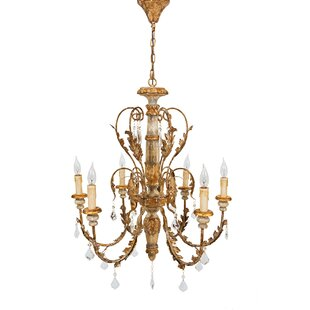 Price Check Vanderbilt 6-Light Candle Style Chandelier By Manor Luxe