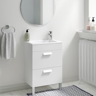 Debba 600mm Wall Mount Vanity Unit By Roca
