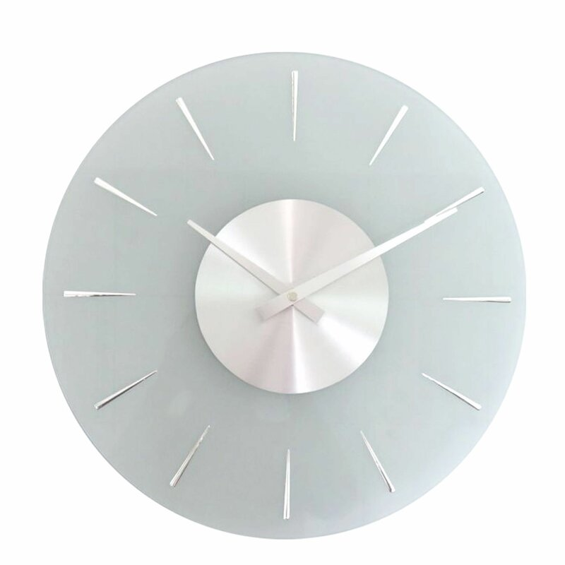 Orren Ellis Saffr Walden 14 Wall Clock Reviews