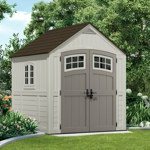 Spurlock 7 Ft. W X 9 Ft. D Apex Plastic/Metal Shed By Sol 72 Outdoor