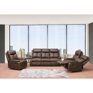Affordable Price Douglass Circle Reclining  3 Piece Living Room Set by Red Barrel Studio Reviews (2019) & Buyer's Guide