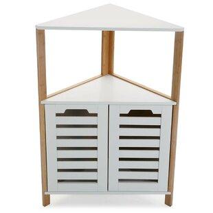 Review 53.5cm X 80.5cm Corner Free-Standing Cabinet