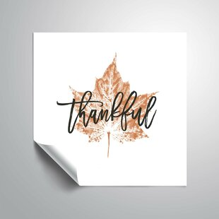 Thanksgiving Vinyl Wall Decals You Ll Love In 2021 Wayfair