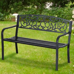 Serafin Steel Bench By Sol 72 Outdoor