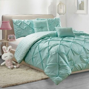 Davet 2 Piece Reversible Duvet Cover Set