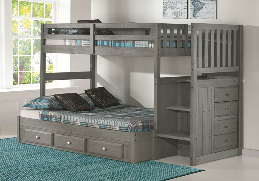 Discovery World Furniture Sandler  (pic of twin over full) Bunk Bed Twin over Twin  Item# 7015