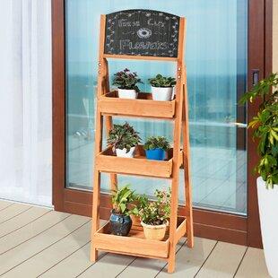 Serrato Triangular MultiTiered Plant Stand