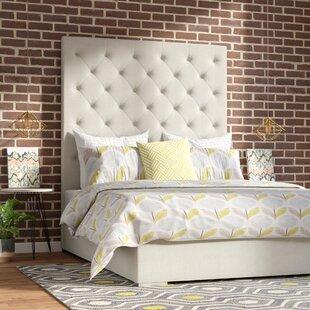 Flickinger Upholstered Panel Bed by Brayden Studio