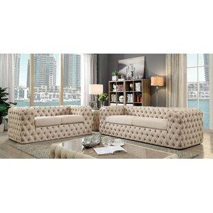 Everly Quinn Reid Living Room Set