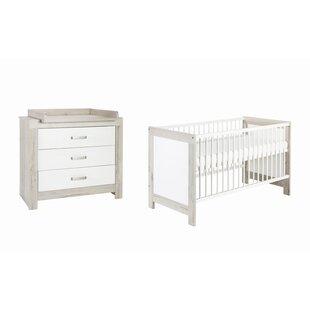 Nordic Halifax 2 Piece Nursery Furniture Set