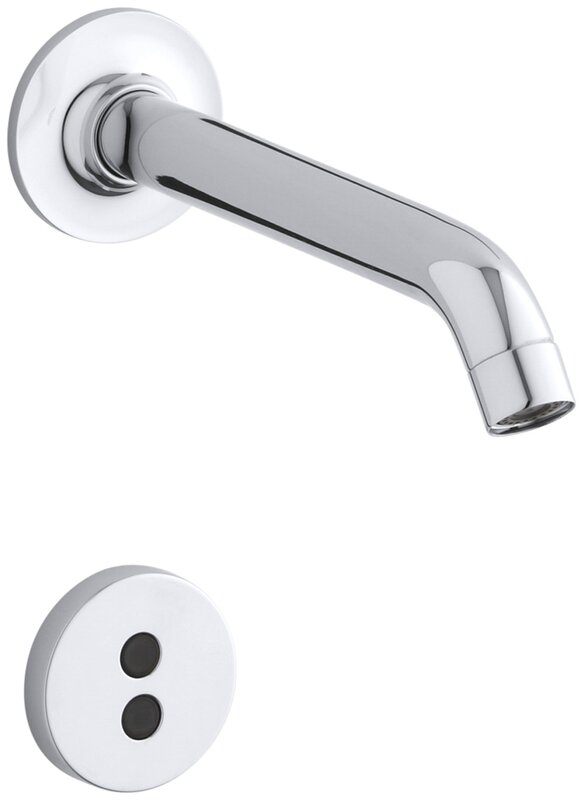K-T11840-CP Kohler Purist Wall-Mount Touchless Faucet Trim with 35 ...