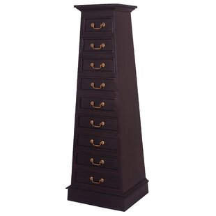 NES Furniture Cairo Fine Handcrafted 9 Drawer Lingerie Chest Image