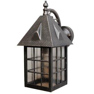 Kiss Series 1-Light Outdoor Wall Lantern