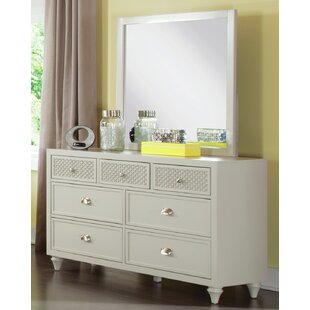 My Home Furnishings Amanda 7 Drawer Double D..