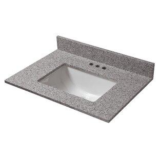Affordable Price Granite 25 Single Bathroom Vanity Top ByHalstead International