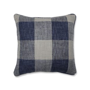 Bollinger Indoor Check Throw Pillow