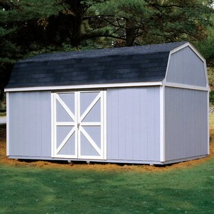 Handy Home Berkley 10 ft. 10 in. W x 18 ft. 2 in. D Wood Storage Shed