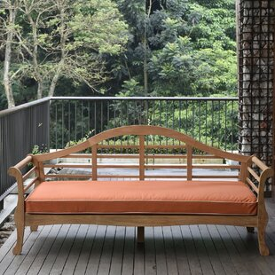 Summerton Teak Patio Sofa with Cushions