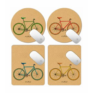 Bumgardner Fixie Bike 4 Pieces Office Set By Brambly Cottage