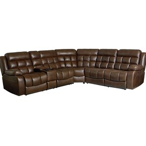 Appletree Reclining Sectional by Red Barrel ..