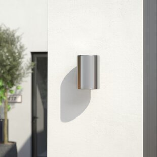 Reviews Arjun 1-Light Outdoor Sconce By Wade Logan