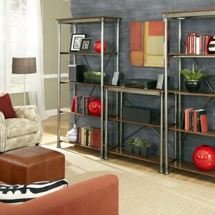 Kibbe Oversized Set Bookcase Red Barrel Studio Amazing