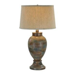 Rustic table lamps youll love wayfair 32 table lamp aloadofball Images