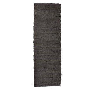 Jarod Handwoven Grey Rug by Vivaraise
