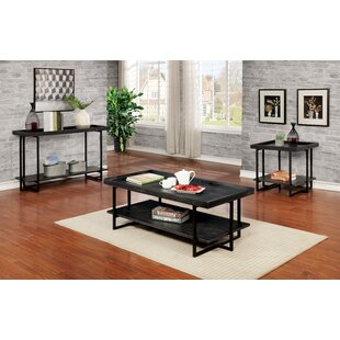 Coffee Table Set Buying Guide Red Barrel Studio Richland Charging Station 3 Piece Coffee Table Set Reviews