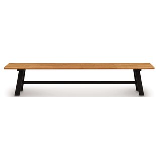 Essentials Farm Wood Bench by Copeland Fu..