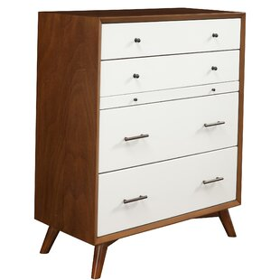 Parocela Two-Tone 4 Drawer Chest