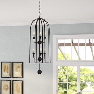 Gracie Oaks Queenstown 6-Light Lantern Pendant