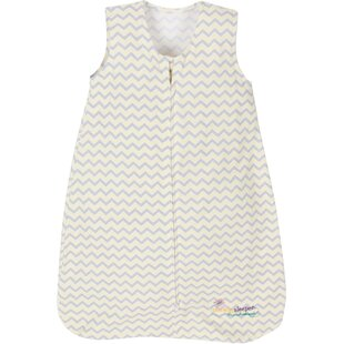 Compare Denton Chevron Yellow Miracle Sleeper By Harriet Bee