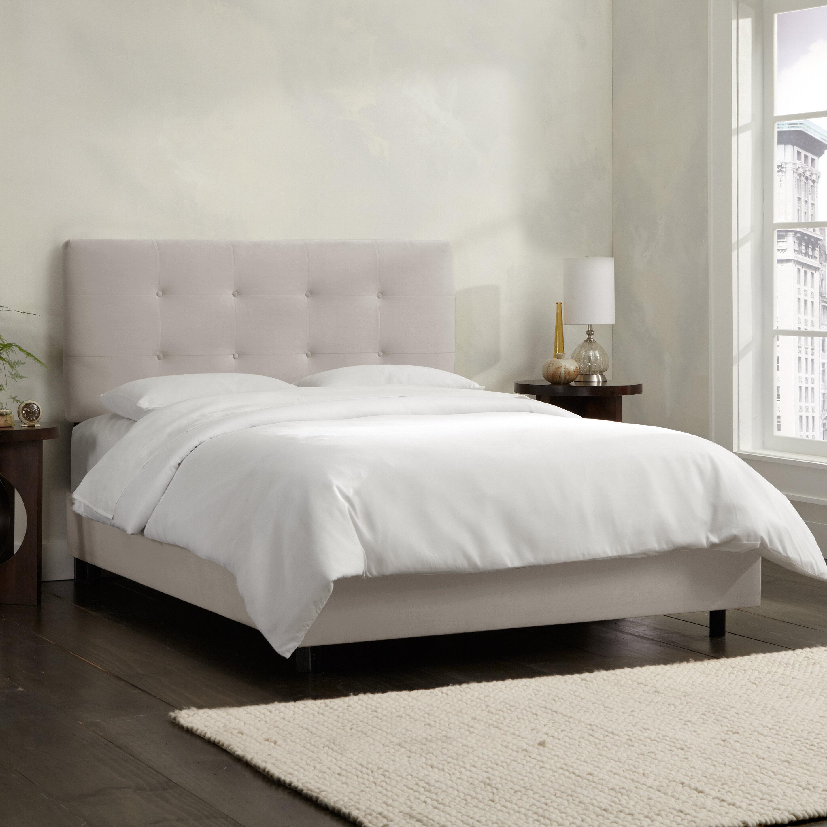 Skyline Furniture Upholstered Standard Bed Reviews Wayfair