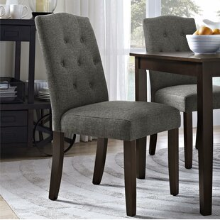 Besek Tufted Upholstered Parsons Dining Chair By Winston Porter