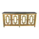 Lomeli 4 Door Credenza by Rosecliff Heights