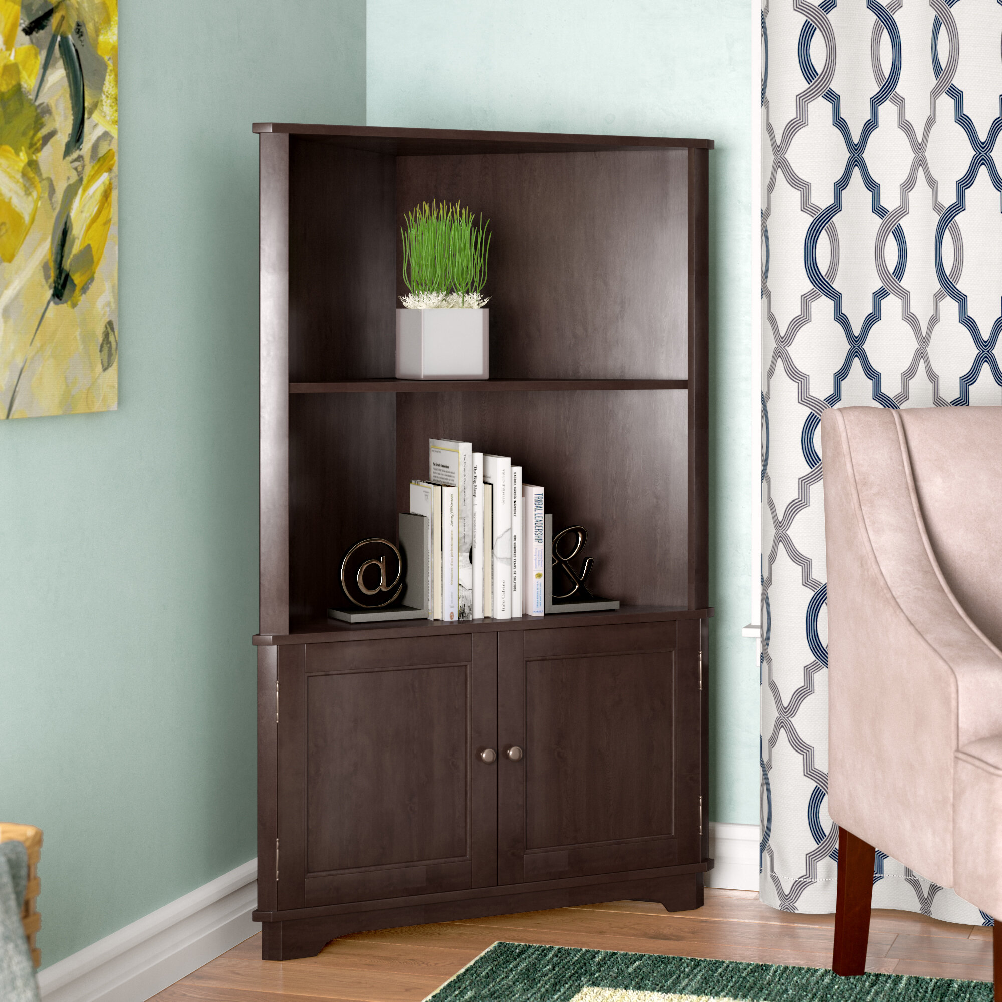 Red Barrel Studio Vas Corner Unit Bookcase Reviews