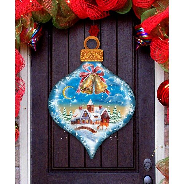 winter door hanger wayfair