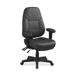 OSP Furniture High-Back Leather Desk Chair