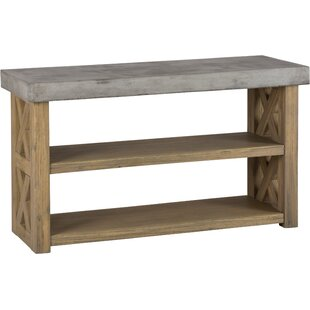 Lagunitas Acacia 2 Shelves Server by Millwood Pines